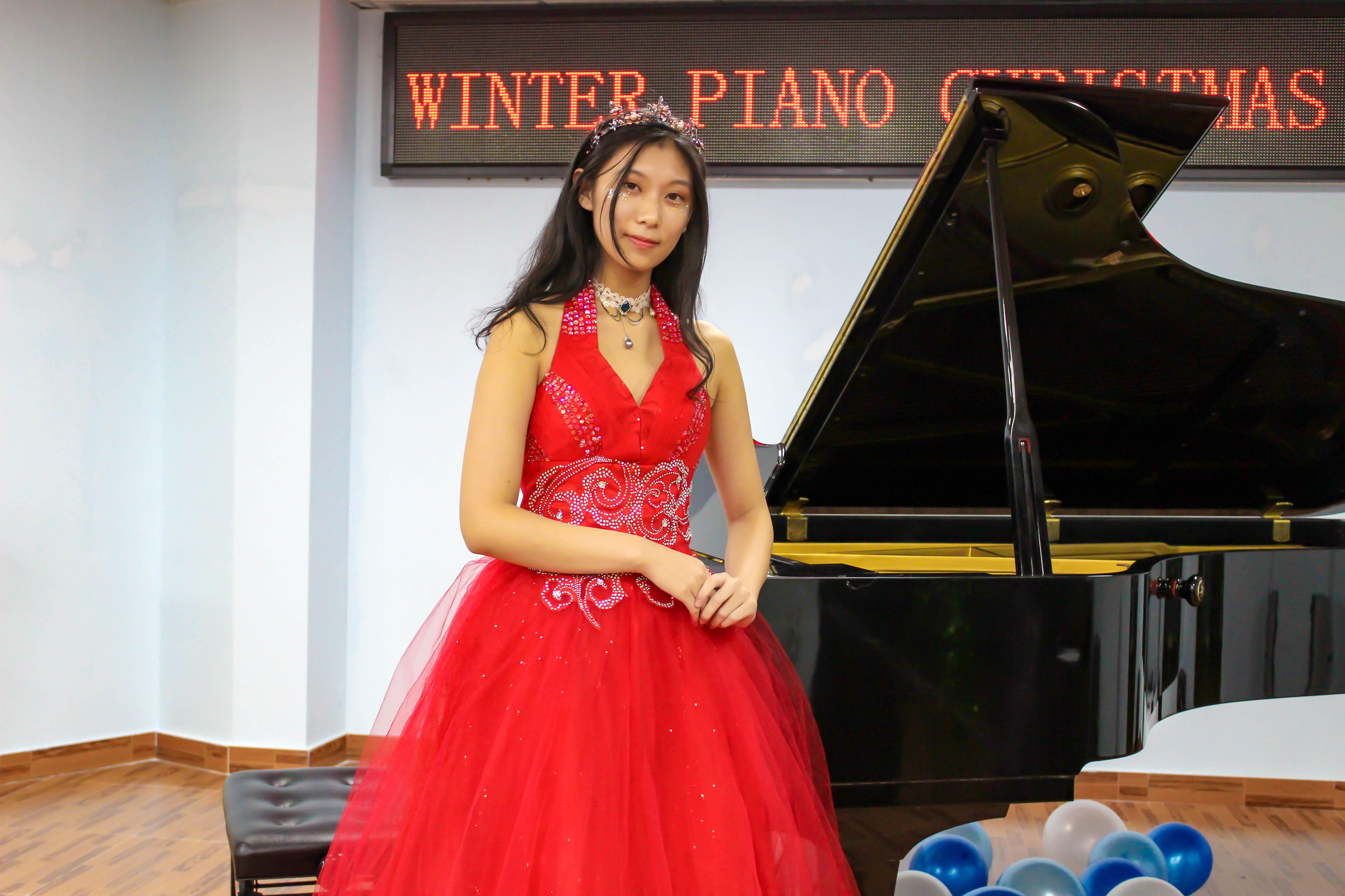 星海附中国际钢琴班优秀学员陶艺然专访:因为热爱所以坚持